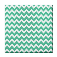 Chevron Pattern Gifts Tile Coasters