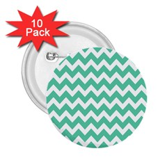 Chevron Pattern Gifts 2 25  Buttons (10 Pack)