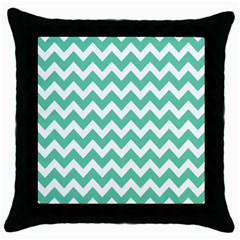 Chevron Pattern Gifts Throw Pillow Cases (black)