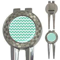 Chevron Pattern Gifts 3 In 1 Golf Divots