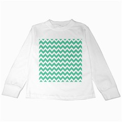 Chevron Pattern Gifts Kids Long Sleeve T Shirts