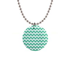 Chevron Pattern Gifts Button Necklaces