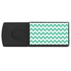 Chevron Pattern Gifts Usb Flash Drive Rectangular (4 Gb)