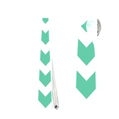 Chevron Pattern Gifts Neckties (two Side)