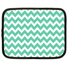 Chevron Pattern Gifts Netbook Case (large)