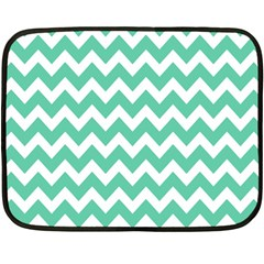 Chevron Pattern Gifts Double Sided Fleece Blanket (mini)