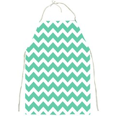 Chevron Pattern Gifts Full Print Aprons