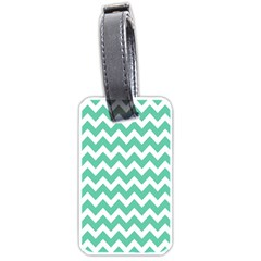 Chevron Pattern Gifts Luggage Tags (two Sides)