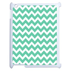 Chevron Pattern Gifts Apple Ipad 2 Case (white) by creativemom