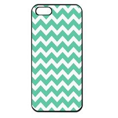 Chevron Pattern Gifts Apple Iphone 5 Seamless Case (black)