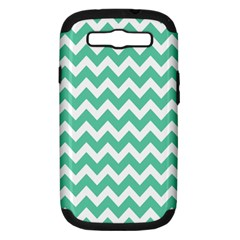 Chevron Pattern Gifts Samsung Galaxy S Iii Hardshell Case (pc+silicone)
