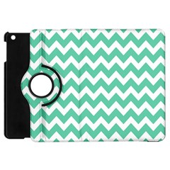 Chevron Pattern Gifts Apple Ipad Mini Flip 360 Case
