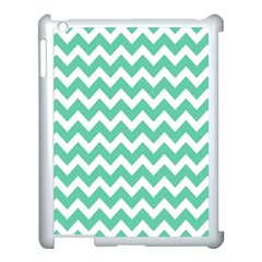 Chevron Pattern Gifts Apple Ipad 3/4 Case (white) by creativemom