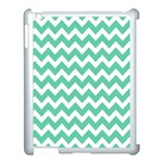 Chevron Pattern Gifts Apple iPad 3/4 Case (White) Front