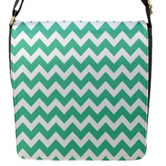 Chevron Pattern Gifts Flap Messenger Bag (s)