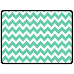 Chevron Pattern Gifts Double Sided Fleece Blanket (large)