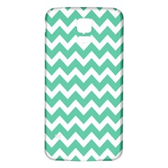 Chevron Pattern Gifts Samsung Galaxy S5 Back Case (white)