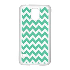 Chevron Pattern Gifts Samsung Galaxy S5 Case (white)