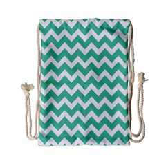 Chevron Pattern Gifts Drawstring Bag (small)