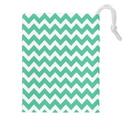 Chevron Pattern Gifts Drawstring Pouches (xxl)
