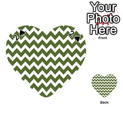 Chevron Pattern Gifts Playing Cards 54 (heart)  by creativemom