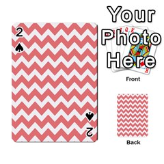 Chevron Pattern Gifts Playing Cards 54 Designs  by creativemom