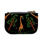Retro Giraffe Coin Change Purse Back
