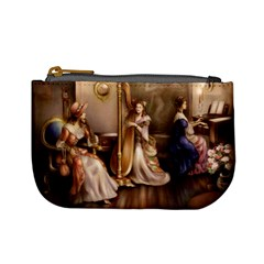 Piano And Harp Coin Change Purse
