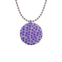 Purple Pattern Button Necklaces