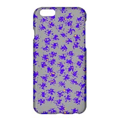 Purple Pattern Apple Iphone 6 Plus/6s Plus Hardshell Case by JDDesigns