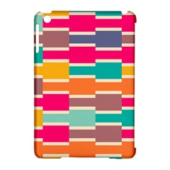 Connected Colorful Rectangles			apple Ipad Mini Hardshell Case (compatible With Smart Cover) by LalyLauraFLM