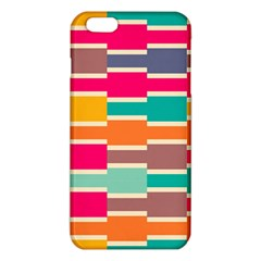 Connected Colorful Rectangles			iphone 6 Plus/6s Plus Tpu Case by LalyLauraFLM