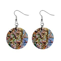 Abstract Background Wallpaper 1 Mini Button Earrings by Costasonlineshop