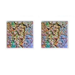 Abstract Background Wallpaper 1 Cufflinks (square) by Costasonlineshop