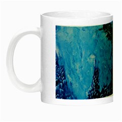 Rockscape Night Luminous Mugs by timelessartoncanvas
