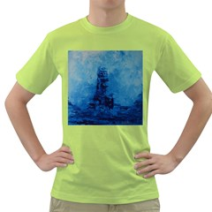 Lost At Sea Green T Shirt