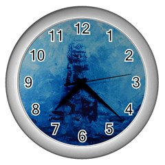 Lost At Sea Wall Clocks (silver)  by timelessartoncanvas