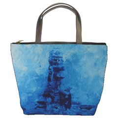 Lost At Sea Bucket Bags by timelessartoncanvas