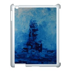 Lost At Sea Apple Ipad 3/4 Case (white) by timelessartoncanvas