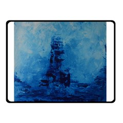 Lost At Sea Double Sided Fleece Blanket (small)