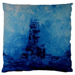 Lost At Sea Large Flano Cushion Cases (two Sides)  by timelessartoncanvas