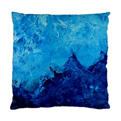 Waves Standard Cushion Case (one Side)  by timelessartoncanvas