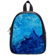Waves School Bags (small)  by timelessartoncanvas