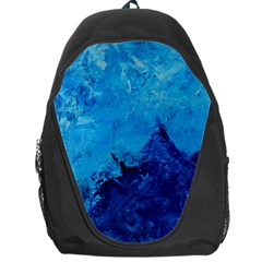 Waves Backpack Bag by timelessartoncanvas