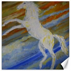 Unicorn In The Sky  Canvas 20  X 20   by JDDesigns
