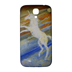 Unicorn In The Sky  Samsung Galaxy S4 I9500/i9505  Hardshell Back Case by JDDesigns