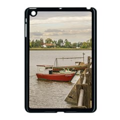 Santa Lucia River In Montevideo Uruguay Apple Ipad Mini Case (black) by dflcprints