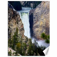 Yellowstone Waterfall Canvas 36  X 48   by trendistuff