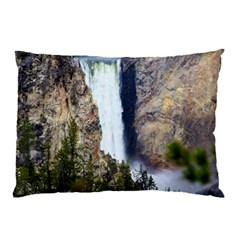 Yellowstone Waterfall Pillow Cases