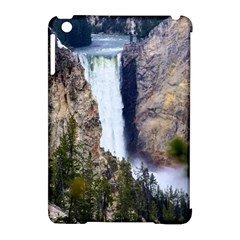 Yellowstone Waterfall Apple Ipad Mini Hardshell Case (compatible With Smart Cover)